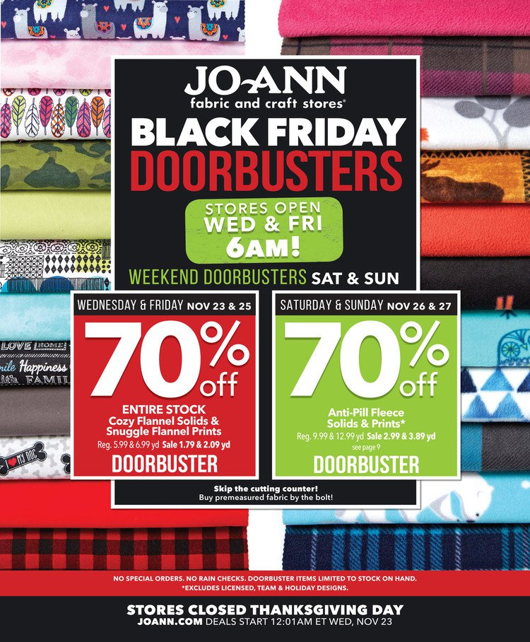 Joann Black Friday page 1